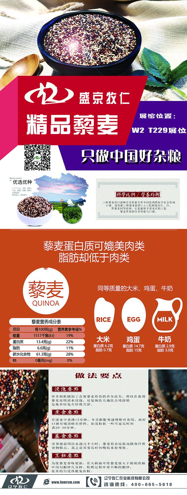 【农业杂粮行业】农业博览会-X展架设计|【雨中漫步网络】上海seo优化 第1张