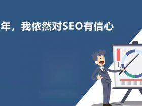 2020年,我依然对SEO有信心-上海seo