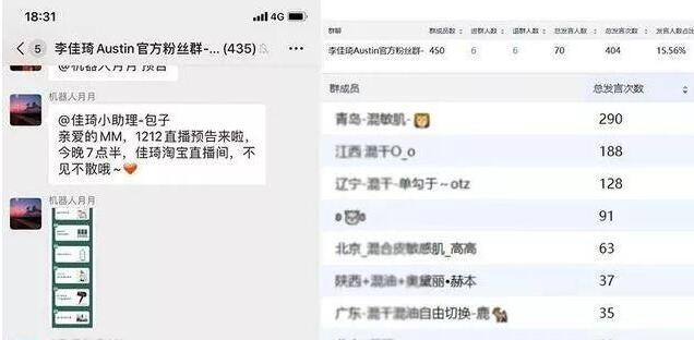 上海seo-浅谈李佳琦的私域流量玩法 第4张